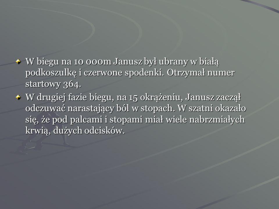 30 czerwca 1932 rok -Janusz Kusociński rozpoczyna podróż za ocean. Jako pierwszy Polak dotarł do wioski olimpijskiej. W czasie treningów interesowali