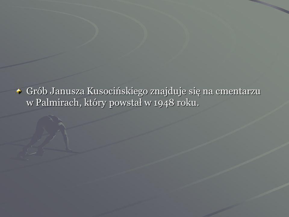 Grób Janusza Kusocińskiego