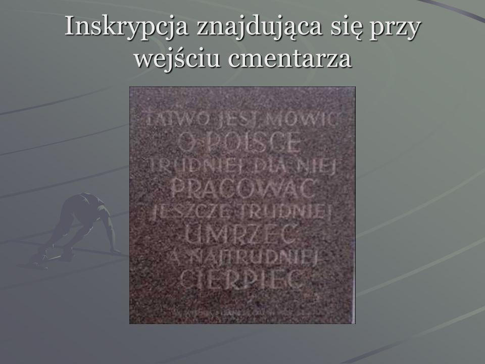 Na cmentarzu znajduje się przeszło 2 tysiące grobów Polaków i Żydów. Oprócz olimpijczyka, na cmentarzu spoczywają m. in.: Jan Pohoski (były wiceprezyd