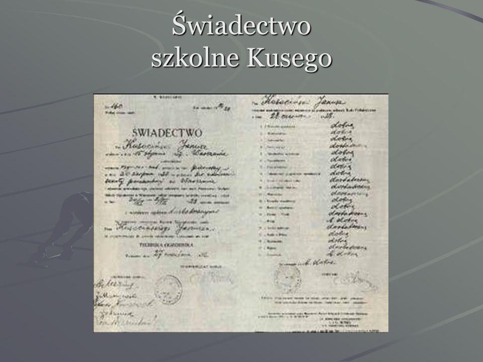 Kiedy podrósł, zaczął dojeżdżać pociągiem do Prywatnej Szkoły Powszechnej Nawrockiego w Warszawie. Jego ojciec gardził sportowcami, a cenił wiedzę. Ja