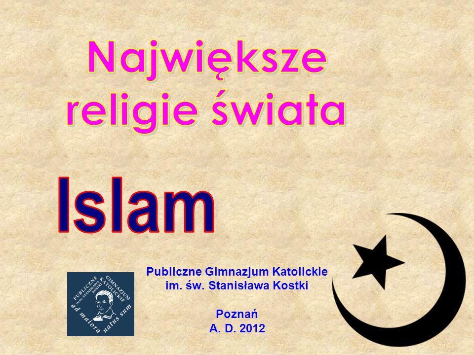Wprowadzenie Islam opiera się na wierze w jedynego Boga, Allaha, który objawił się prorokowi Mahometowi.