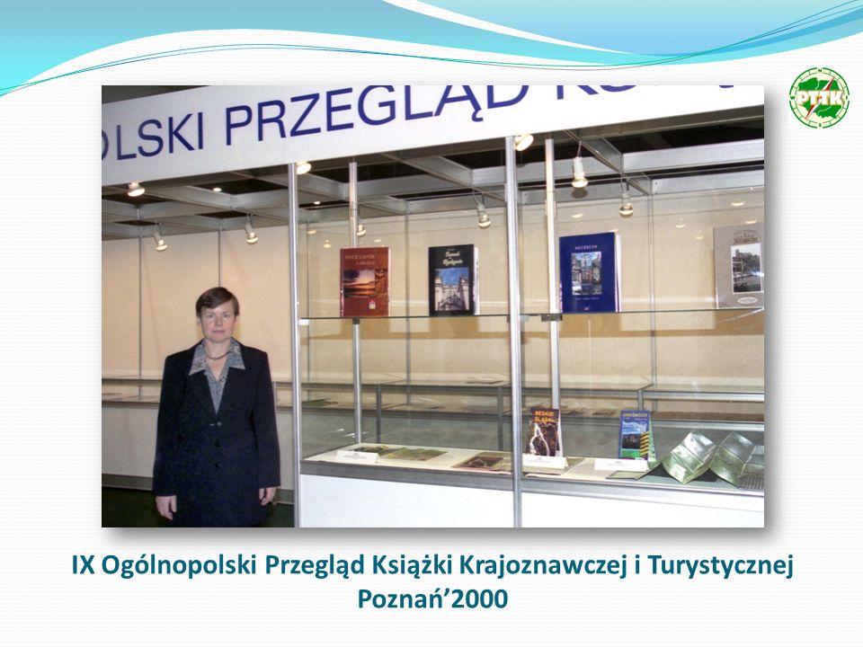 IX Ogólnopolski Przegląd Książki Krajoznawczej i Turystycznej Poznań2000