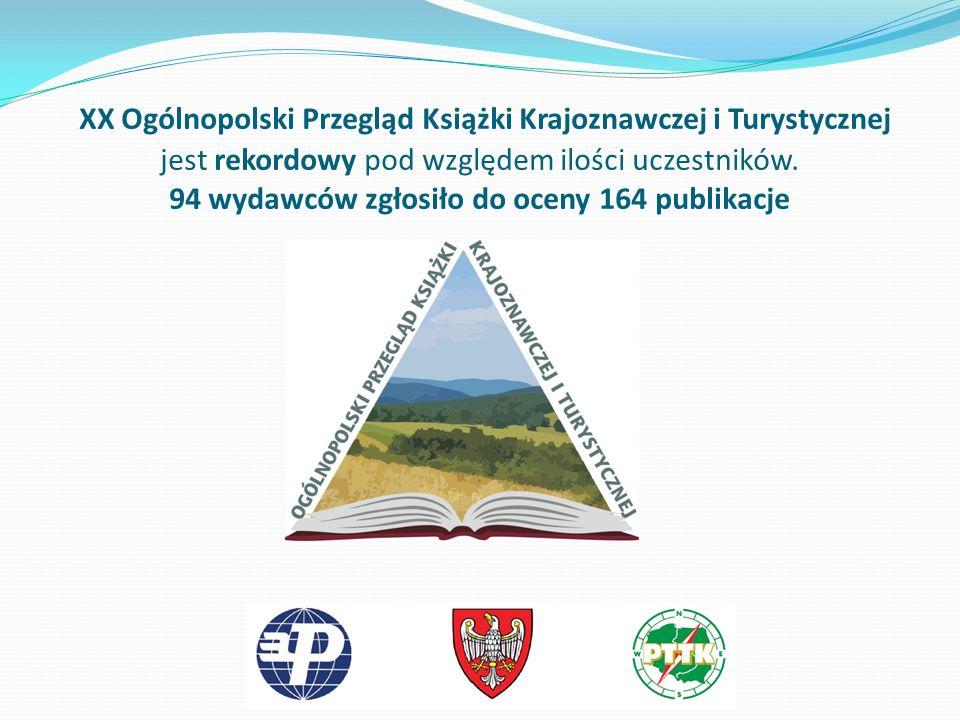XX Ogólnopolski Przegląd Książki Krajoznawczej i Turystycznej jest rekordowy pod względem ilości uczestników.