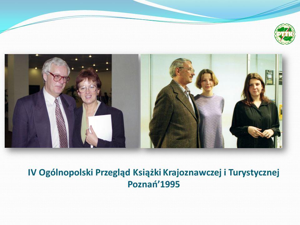 IV Ogólnopolski Przegląd Książki Krajoznawczej i Turystycznej Poznań1995