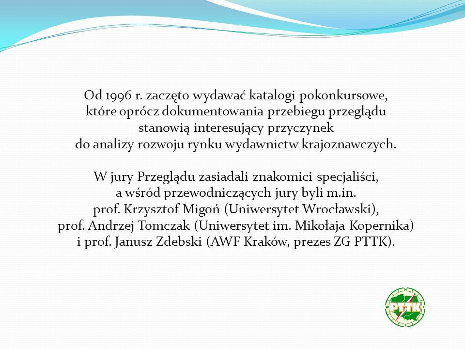 V Ogólnopolski Przegląd Książki Krajoznawczej i Turystycznej Poznań1996