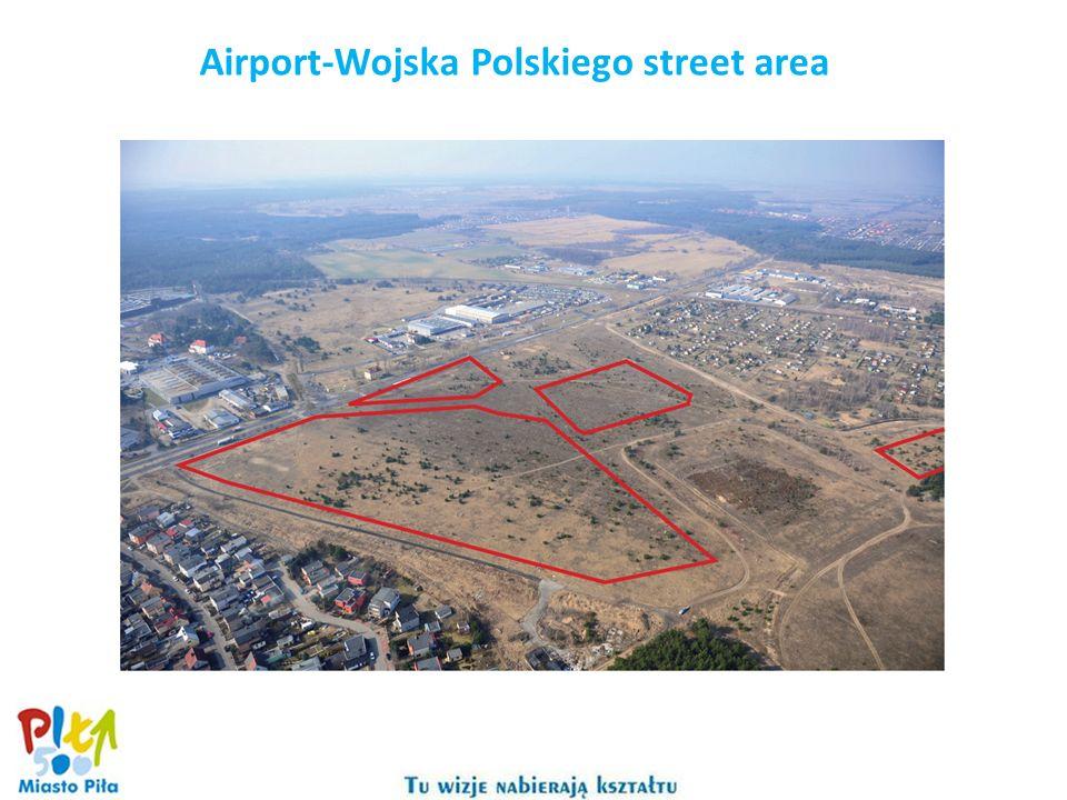 Airport-Wojska Polskiego street area