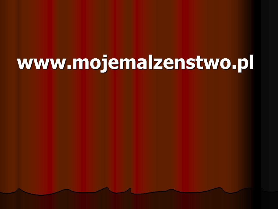 www.mojemalzenstwo.pl