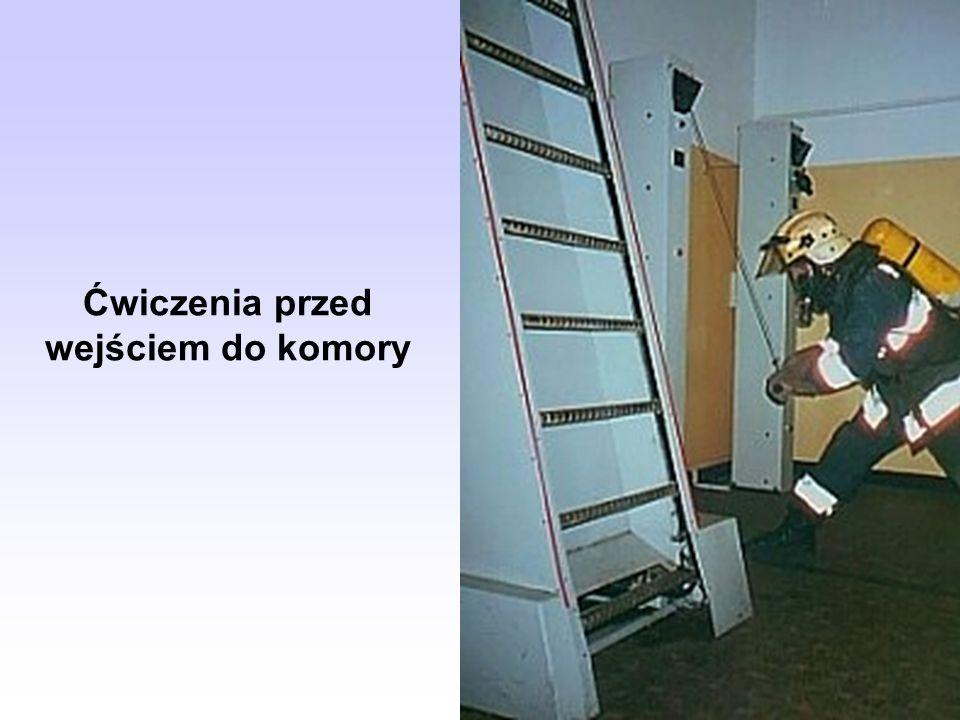 Ćwiczenia przed wejściem do komory