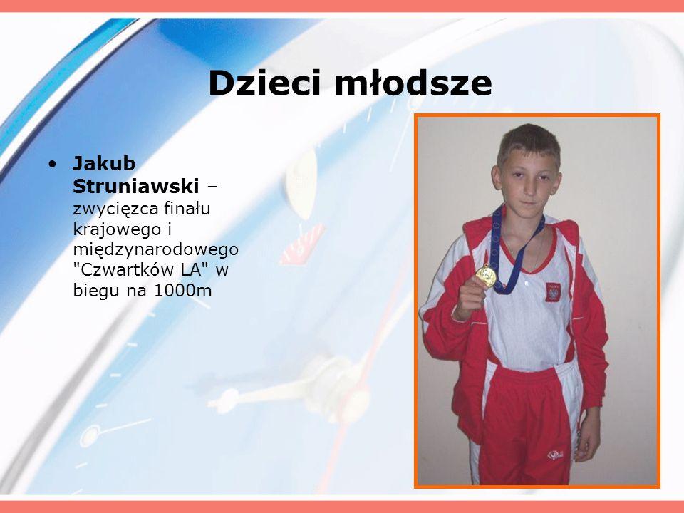 Dzieci młodsze Jakub Struniawski – zwycięzca finału krajowego i międzynarodowego