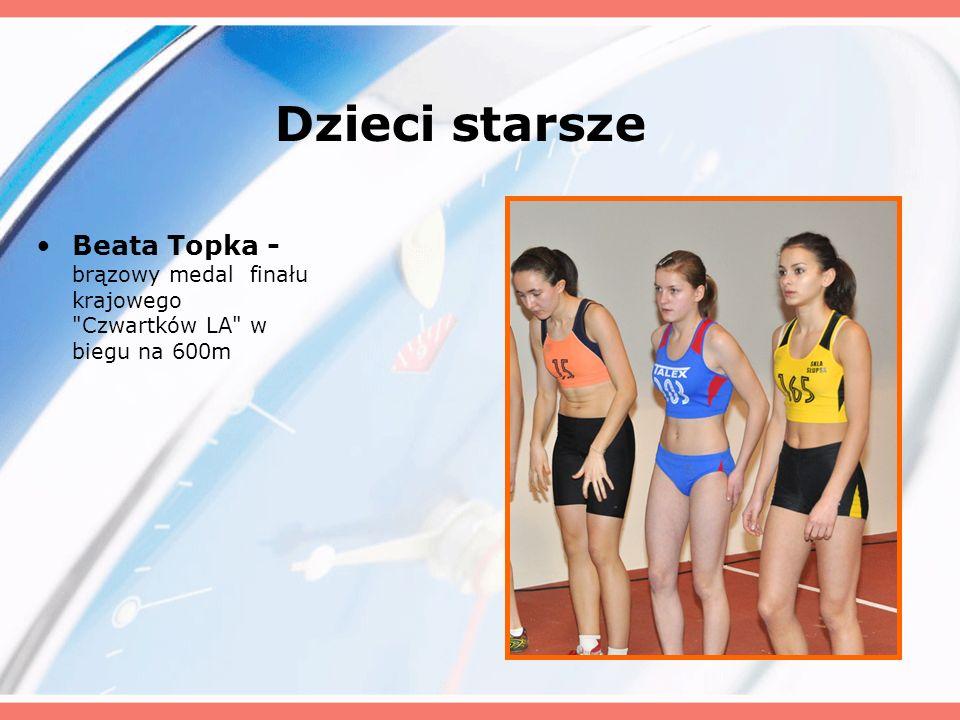 Dzieci starsze Beata Topka - brązowy medal finału krajowego