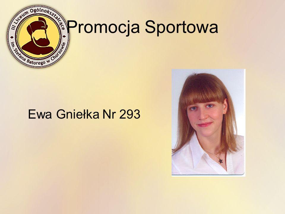 Promocja Sportowa Ewa Gniełka Nr 293