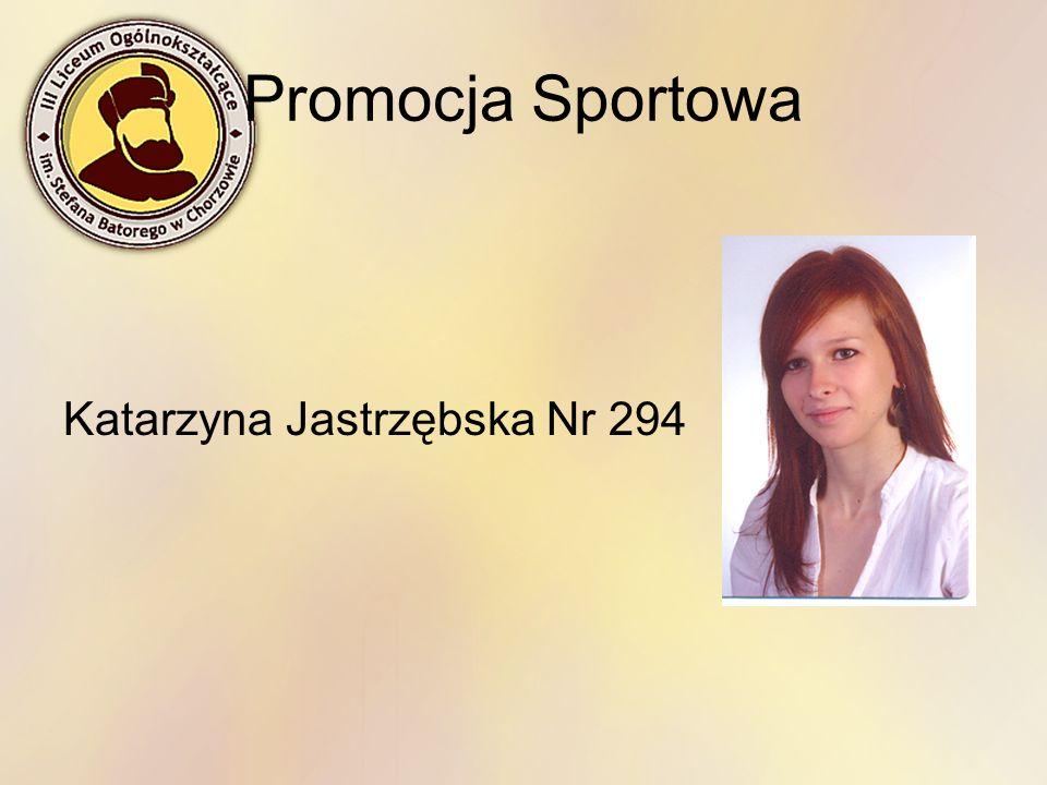 Promocja Sportowa Katarzyna Jastrzębska Nr 294
