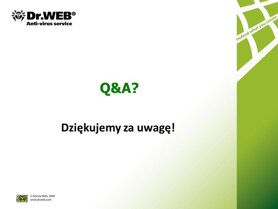 Q&A Dziękujemy za uwagę!