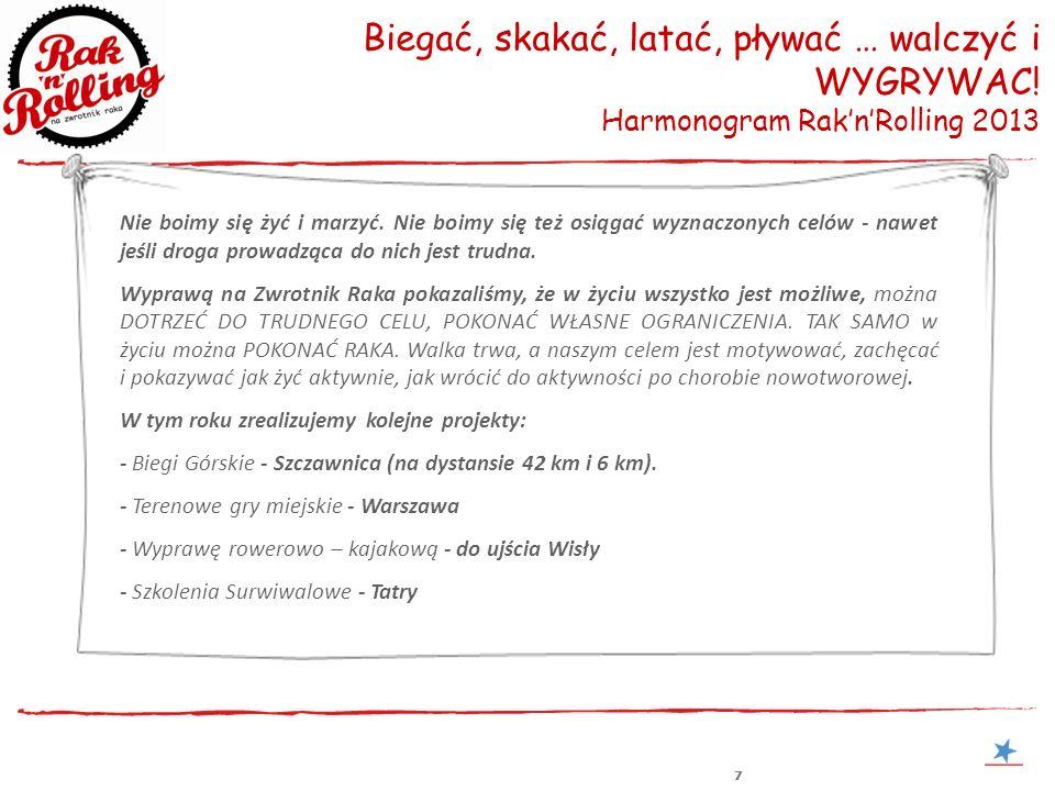 888 Rollowanie przez bieganie Biegi Górskie w Szczawnicy - 3 maja 2013 Zaproszenie na wernisaż Bieganie to najprostsza forma aktywności fizycznej, dająca jednocześnie niesamowitą satysfakcję.
