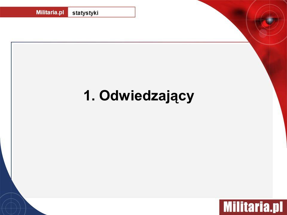 1. Odwiedzający Militaria.pl statystyki