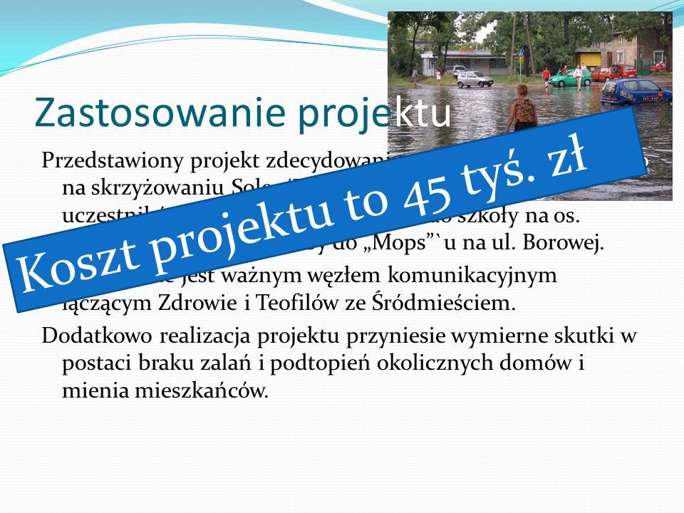 Przedstawiony projekt zdecydowanie poprawi bezpieczeństwo na skrzyżowaniu Solec/Borowa dla wszystkich jego uczestników. Ulicą Borową idą dzieci do szk