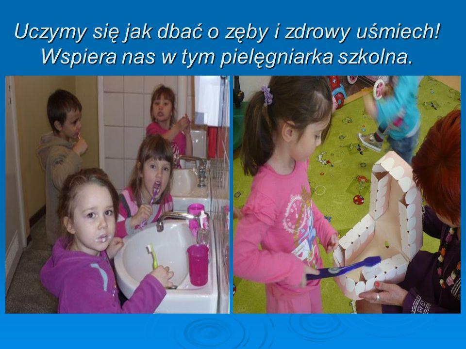 Uczymy się jak dbać o zęby i zdrowy uśmiech! Wspiera nas w tym pielęgniarka szkolna.