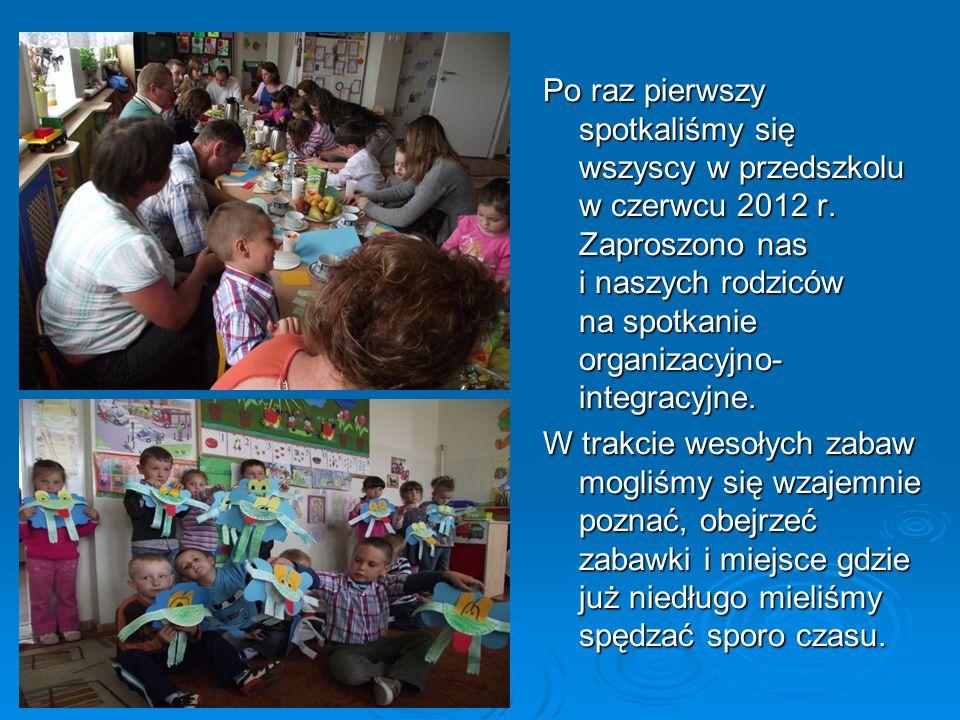 Pierwszy raz w przedszkoluPierwszy raz w przedszkoluPierwszy raz w przedszkoluPierwszy raz w przedszkolu Po raz pierwszy spotkaliśmy się wszyscy w prz