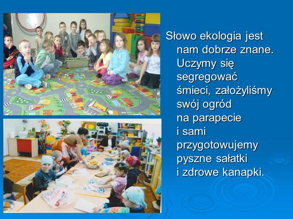Nasza grupa przedszkolna przyłączyła się do programu ekologicznego Kubusiowi Przyjaciele Natury.