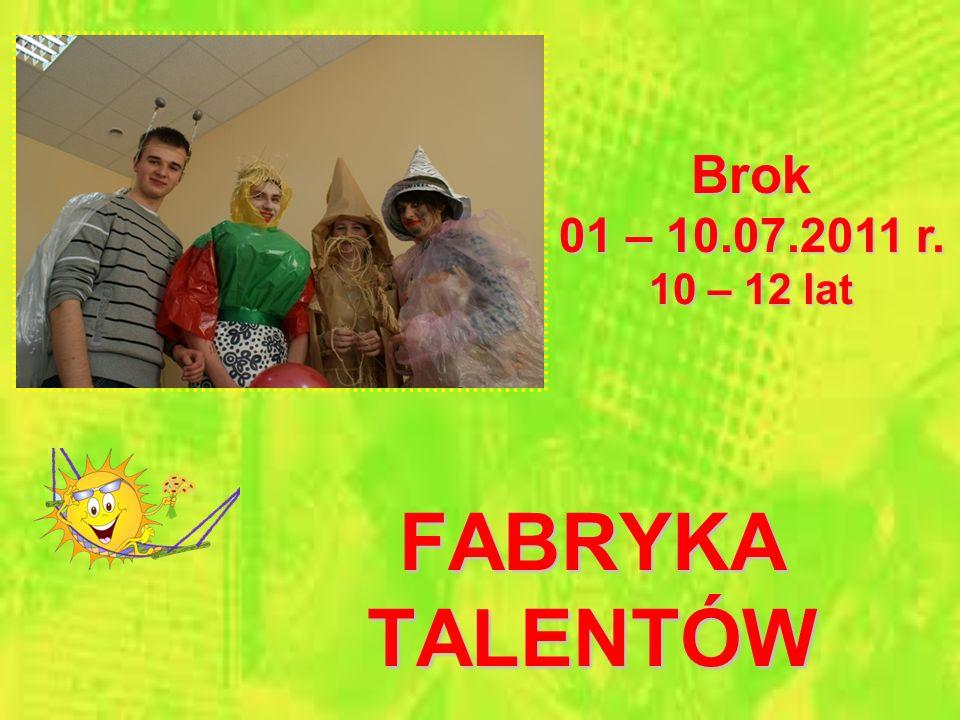 DO KINA CZY DO TEATRU? Sokołów Podlaski 21 – 30.08.2011 r. 16 – 19 lat
