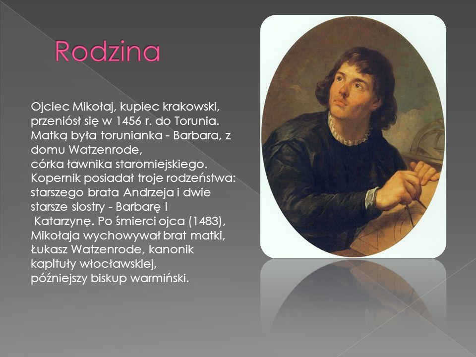 Mikołaj Kopernik ukończył w 1491 roku naukę w szkole parafialnej przy kościele św.
