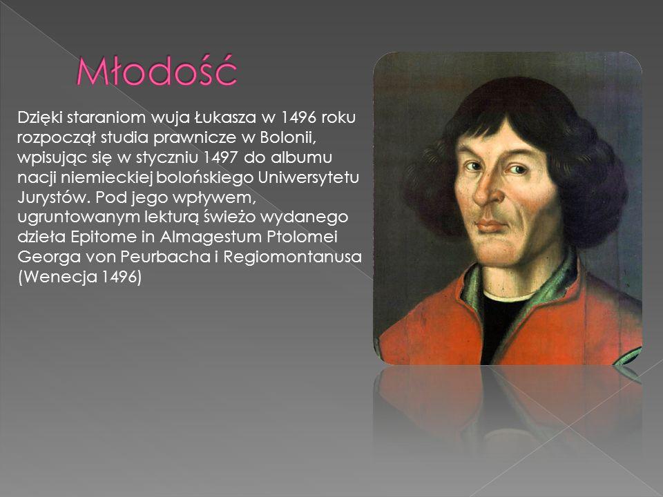 R ozpoczął badanie sprzeczności w teorii ruchu Księżyca, opisanej przez Klaudiusza Ptolemeusza, wynikających z założeń teorii geocentrycznej.