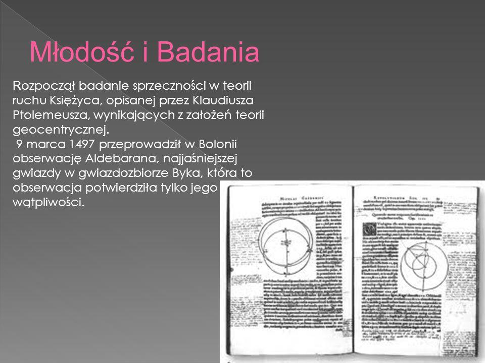 W latach 1506-12 przebywał głównie w Lidzbarku Warmińskim, gdzie pracował jako lekarz i sekretarz wuja Watzenrodego.