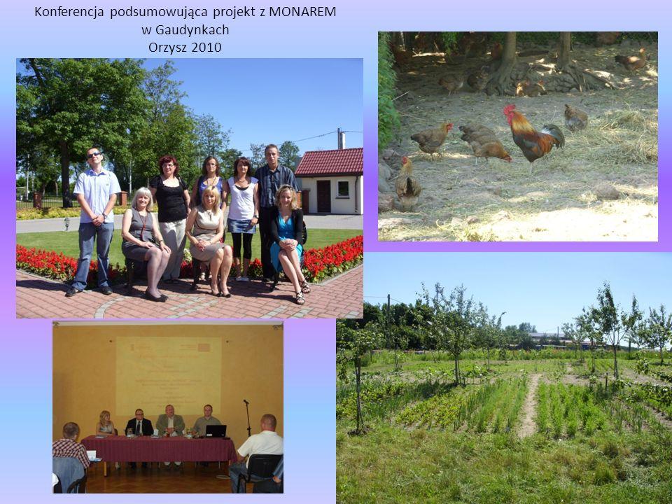 Konferencja podsumowująca projekt z MONAREM w Gaudynkach Orzysz 2010