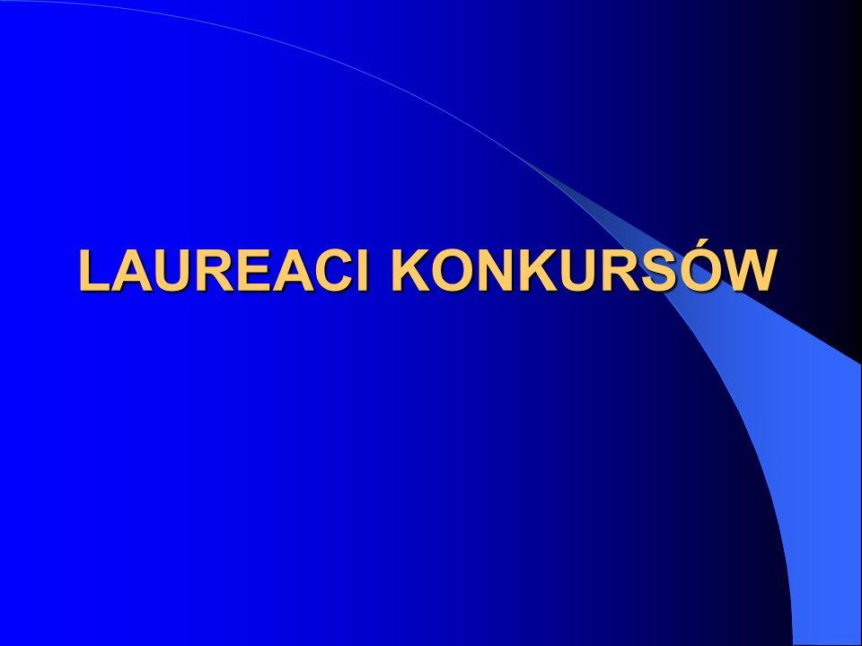 LAUREACI KONKURSÓW