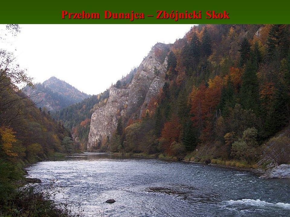 Przełom Dunajca – Zbójnicki Skok
