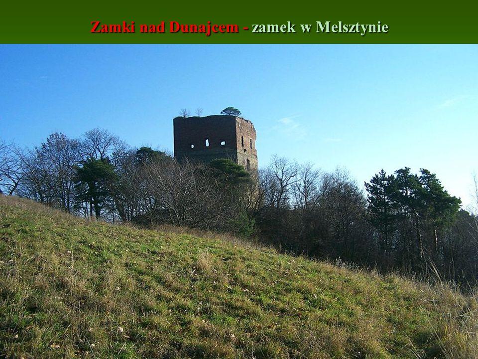 Zamki nad Dunajcem - zamek w Melsztynie