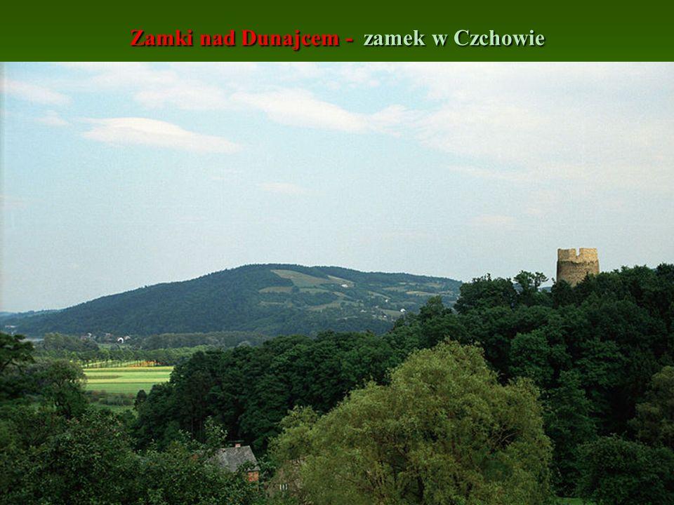 Zamki nad Dunajcem - zamek w Czchowie