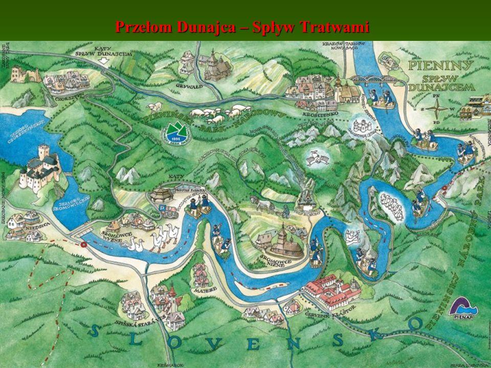 Zamki nad Dunajcem - Wytrzyszczka – zamek Tropsztyn