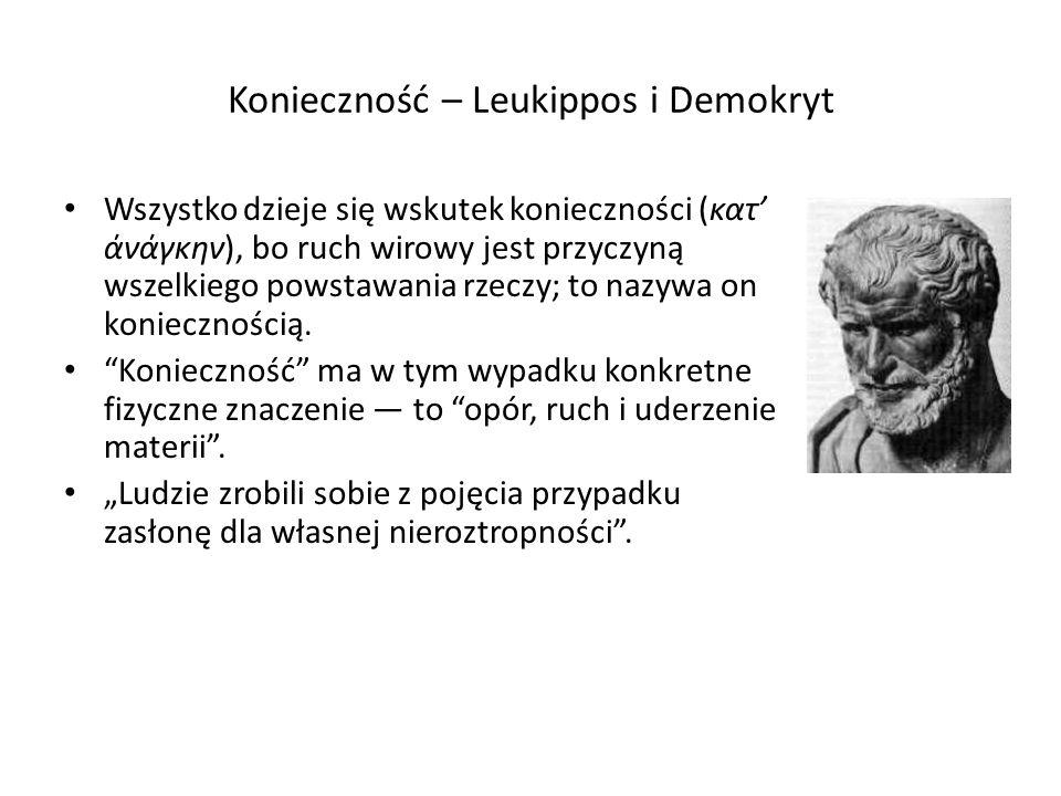 Epikur - parenkliza (gr.παρέγκλισις - odchylenie, łac.