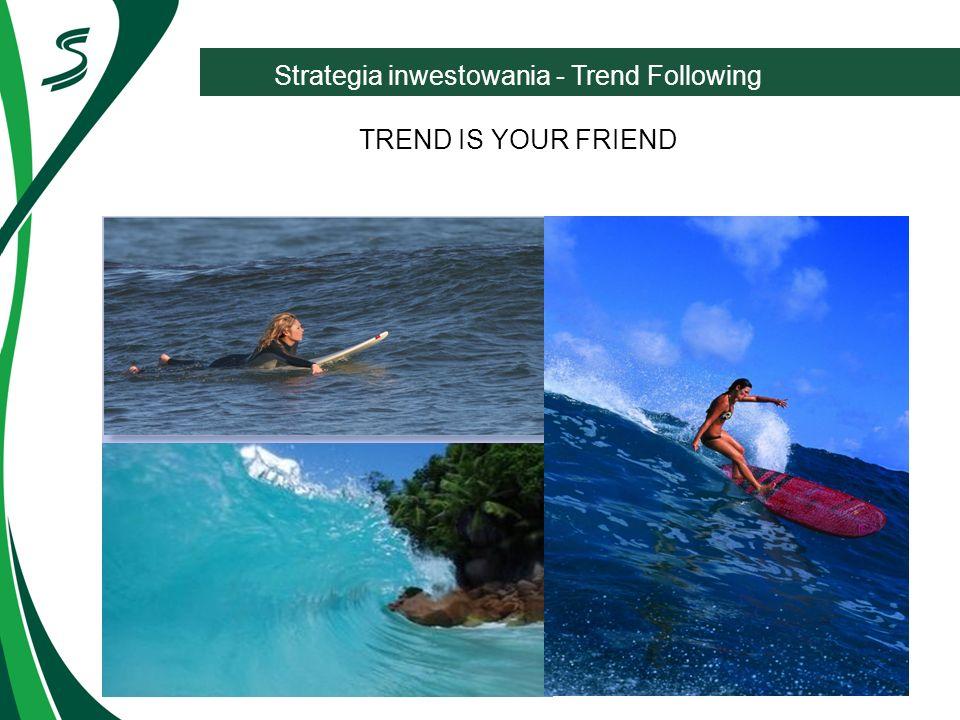 Strategia inwestowania - Trend Following TREND IS YOUR FRIEND