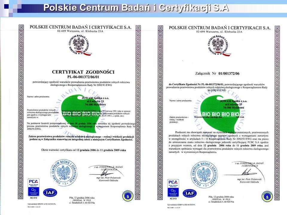 24 Polskie Centrum Badań i Certyfikacji S.A