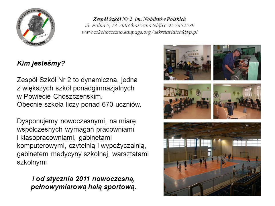 Zespół Szkół Nr 2 im. Noblistów Polskich ul. Polna 5, 73-200 Choszczno tel/fax. 95 7652539 www.zs2choszczno.edupage.org / sekretariatch@vp.pl Kim jest