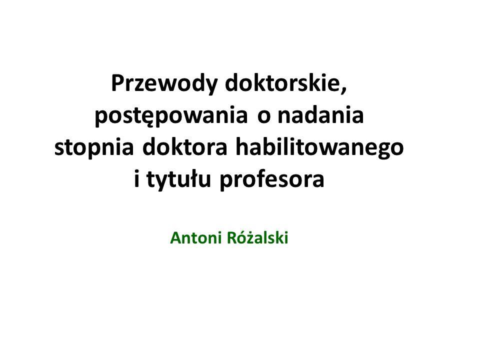 Wynagrodzenia Promotor w przewodzie doktorskim – 100 % minimalnej stawki wynagrodzenia zasadniczego prof.