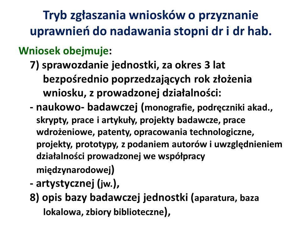 Habilitacja Ustawa z 14.03.2003 Recenzje – w ciągu 3 mies.