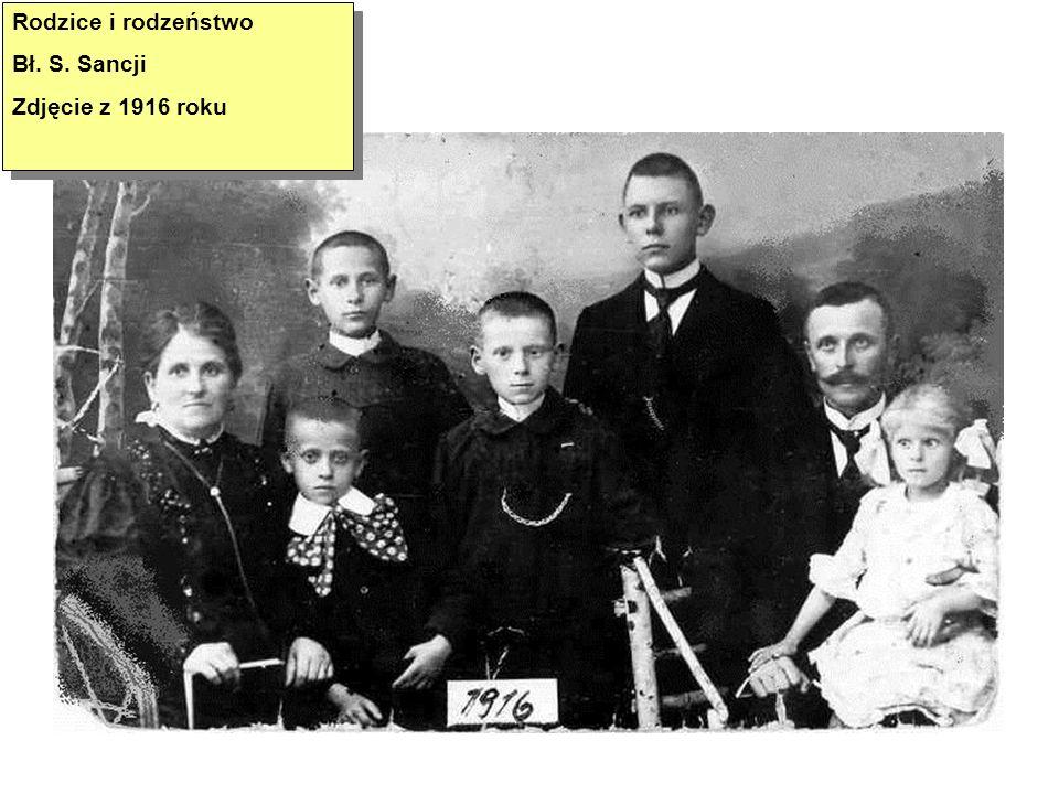 Rodzice Bł.S. Sancji: Marianna i Augustyn Szymkowiak.