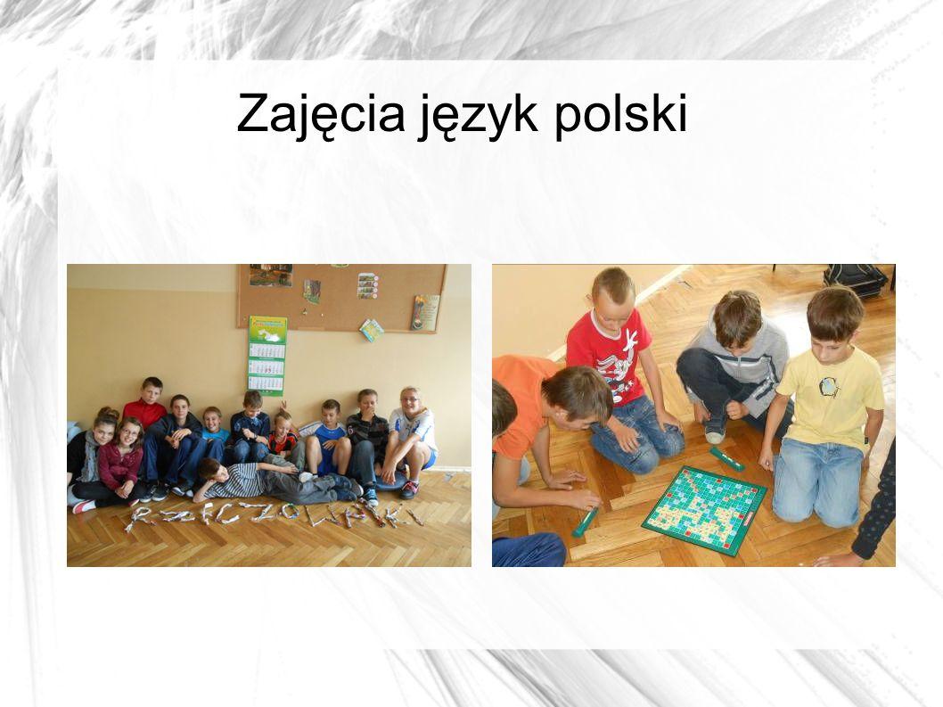 Zajęcia język polski