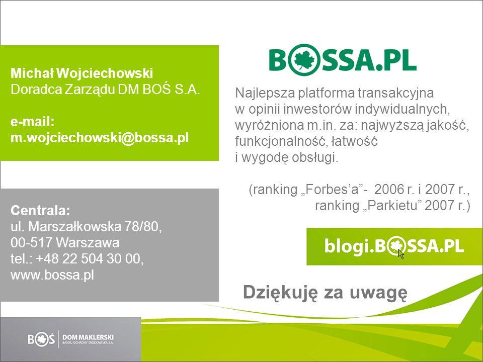 Najlepsza platforma transakcyjna w opinii inwestorów indywidualnych, wyróżniona m.in.