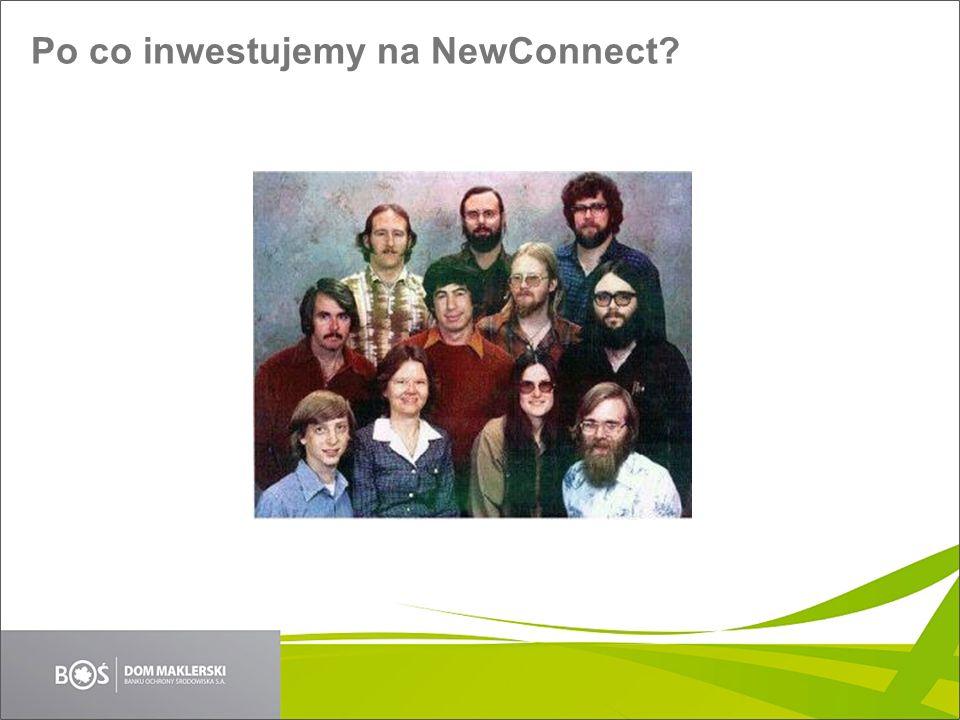 Po co inwestujemy na NewConnect?