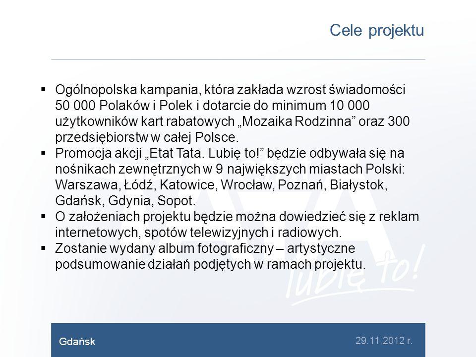 Cele projektu Ogólnopolska kampania, która zakłada wzrost świadomości 50 000 Polaków i Polek i dotarcie do minimum 10 000 użytkowników kart rabatowych