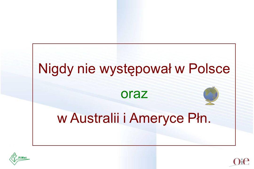 Nigdy nie występował w Polsce oraz w Australii i Ameryce Płn.
