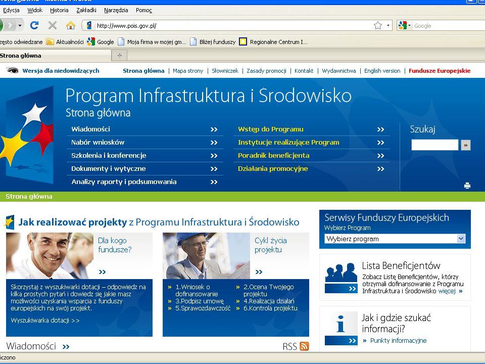 Program Operacyjny Innowacyjna Gospodarka Słowem kluczem w POIG jest słowo Innowacyjność.
