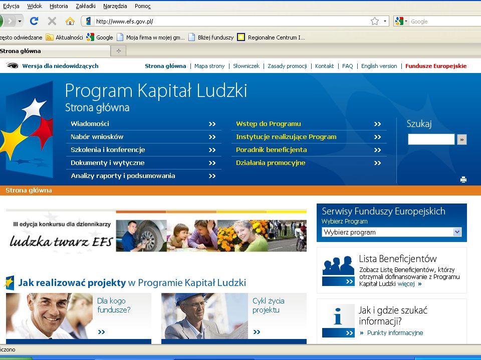 Regionalne Programy Operacyjne Regionalne Programy Operacyjne są to programy stworzone odrębnie dla każdego województwa.