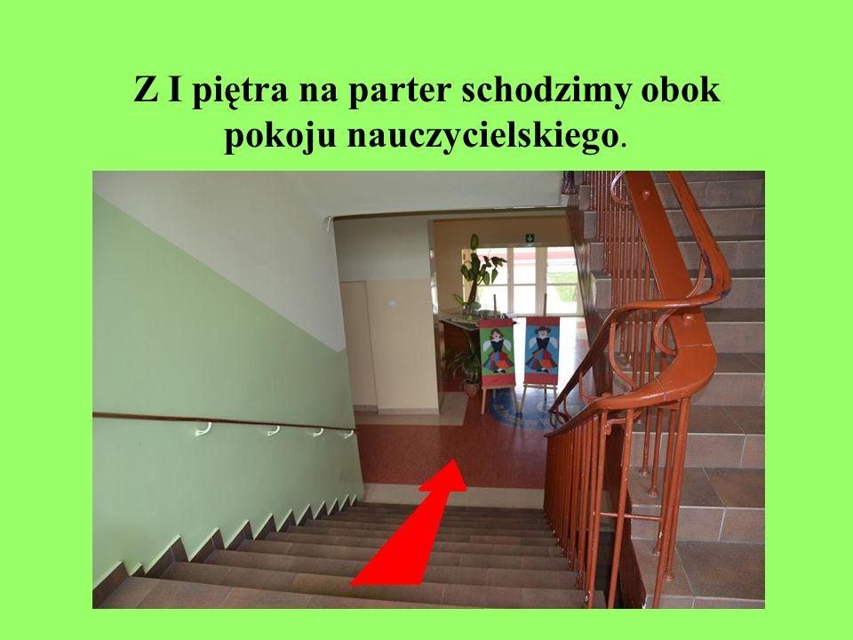 NIE wchodzimy na II piętro.