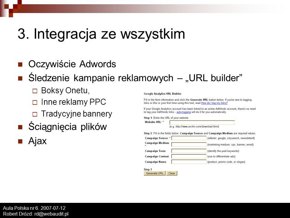 Aula Polska nr 6. 2007-07-12 Robert Drózd: rd@webaudit.pl 3.