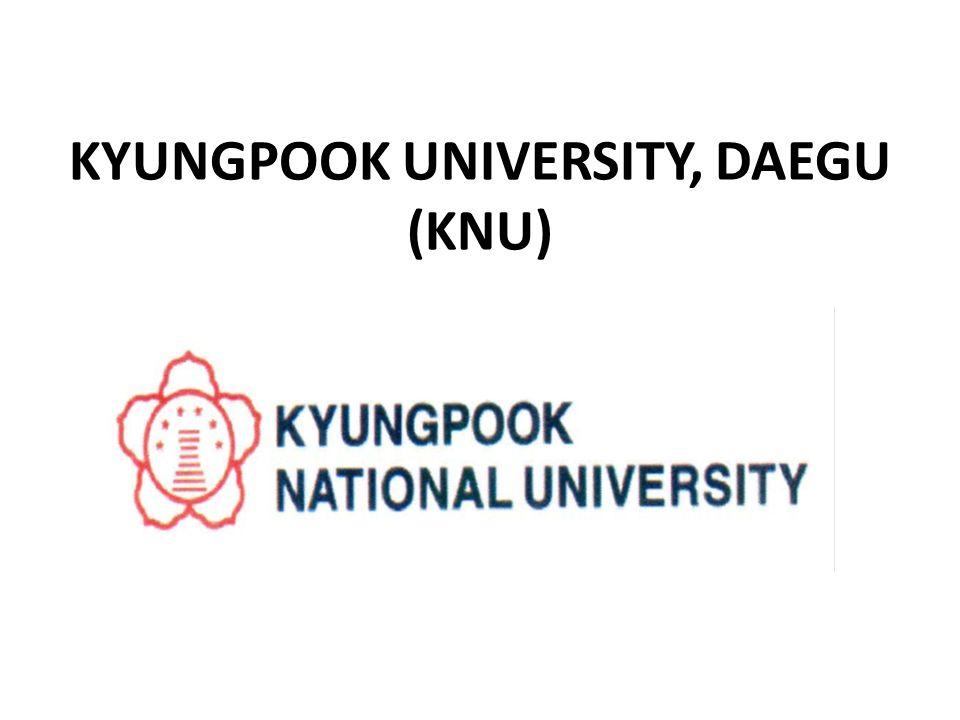 KYUNGPOOK UNIVERSITY, DAEGU (KNU)